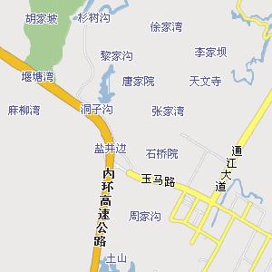 重庆至昆明地图