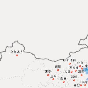 陕西榆林子洲地图