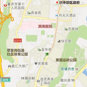 重庆白鹤林3-4-7结构图