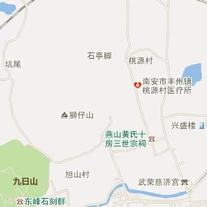 武乡县丰州镇地图