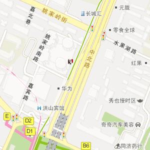 武汉洪山广场地铁站