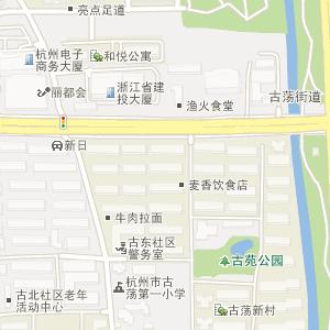 杭州城站火车站到浙江工业大学