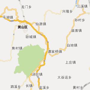 朱旺景区地图