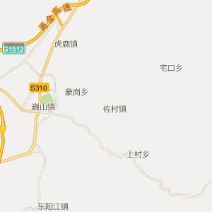 东阳市歌山镇地图