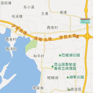 苏州公交车线路查询 苏州公交车线路 ->昆山115路  显示全部站点名称