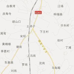 鹤城区市一中学地图
