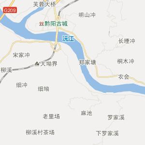 怀化洪江市地图】湖南省怀化洪江...