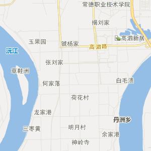 常德鼎城区地图】湖南省常德鼎城...