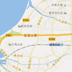 威海公交车线路查询 威海公交车线路 ->94路  显示全部站点名称 公交