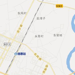 长春市德惠市地图图片
